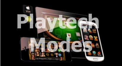 Playtech online casinos modes